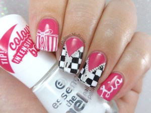 It's a girl nail art
