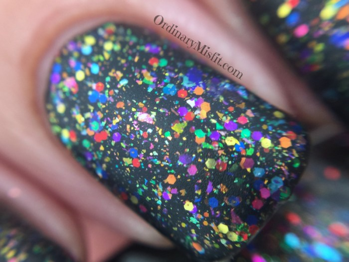 Dollish Polish - This is NO funhouse macro matte