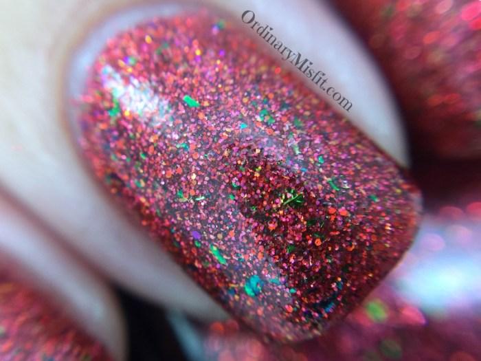 Dollish polish - Santa claus will punish you macro