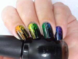 52 Week nail challenge Rainbow