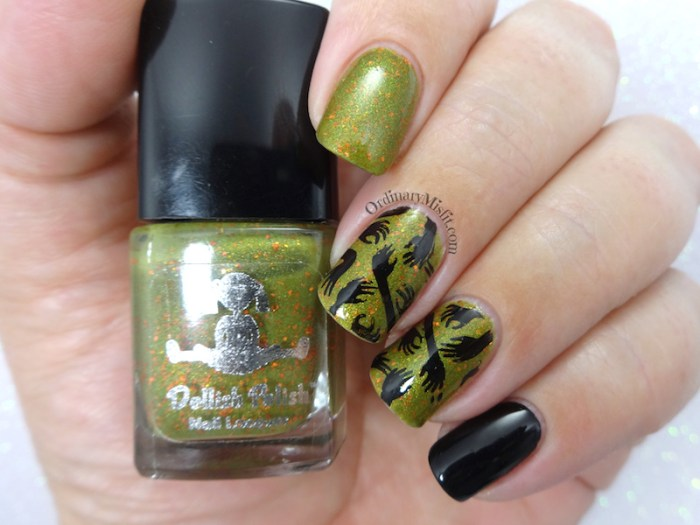 Dollish Polish - The pain nail art