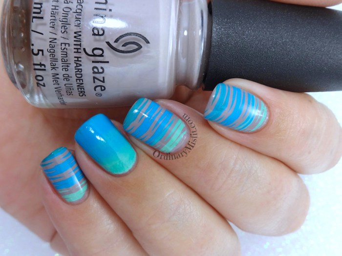 Dope gradients nail art
