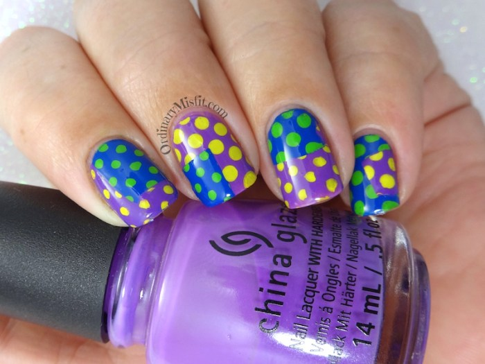Something dotty nail art