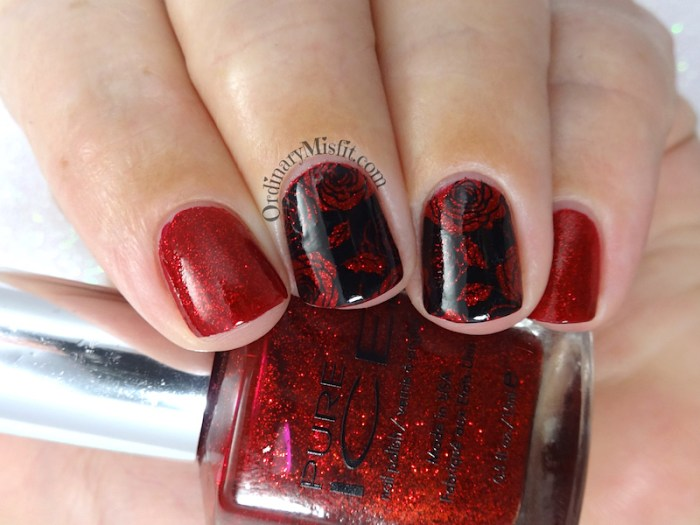 52 week nail art challenge - Inspired by a TV show