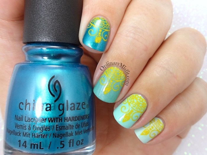 52 week nail art challenge - Ombre