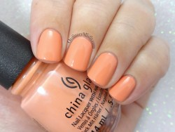 China Glaze - I just cant-aloupe