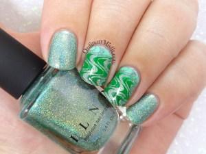 52 week nail art challenge - Green§