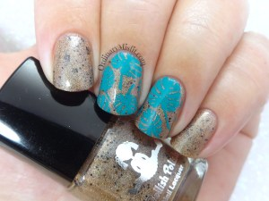 Dollish Polish - The slaughtered lamb nail art