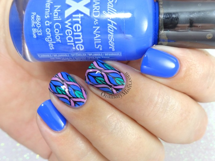 52 week nail art challenge - Inspired by a pattern