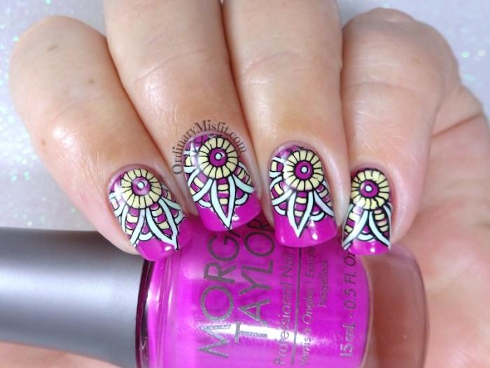 Kaleidoscope nail art