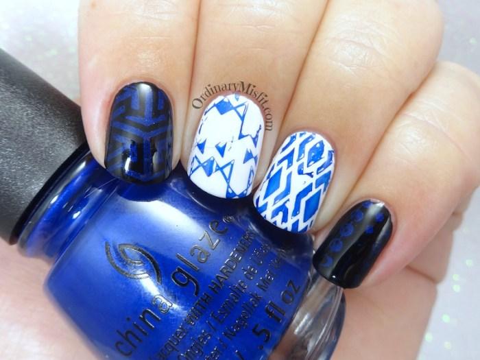 China Glaze - Combat blue-ts