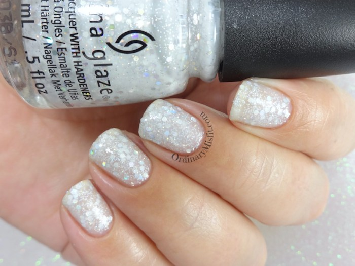 China Glaze - Don't be a snow-flake