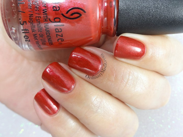 China Glaze - Santa's side chick glossy