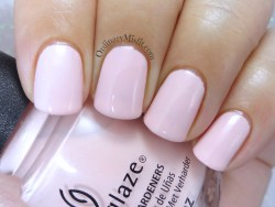China Glaze - My sweet lady