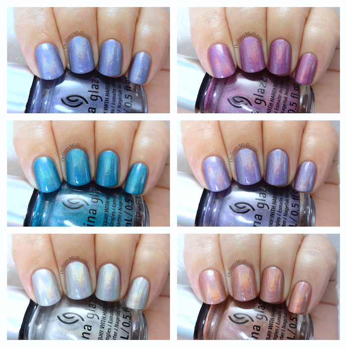 China Glaze - OMG Flashback collection