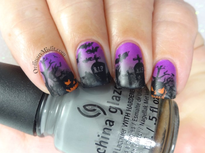 Friday Triad October - Inspired by Bedizzlenails 2