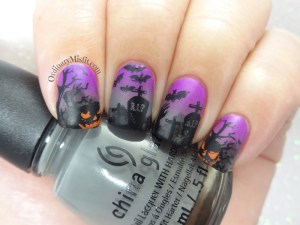 Friday Triad October - Inspired by Bedizzlenails