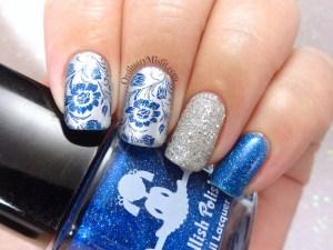 Week 51 - Silver + blue