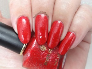 Born Pretty Store review - Peel off nail polish Firebird dance