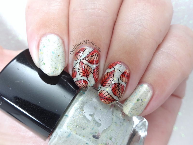 52 week nail art challenge - Week 15: Autumn / Spring