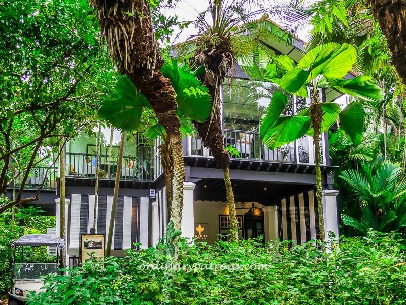 Corner House at Botanical Gardens
