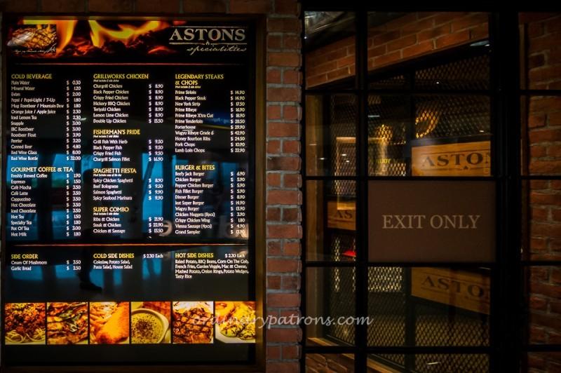 Astons Specialties @ Kallang Wave