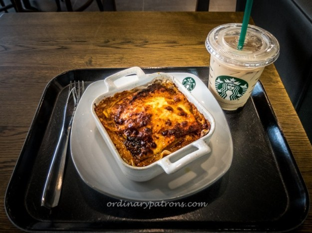 Starbuck's Beef Lasagna