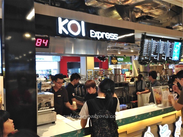 Seletar Mall Koi Express