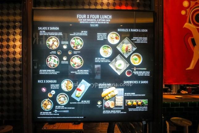 Farrer Park jinzakaya menu