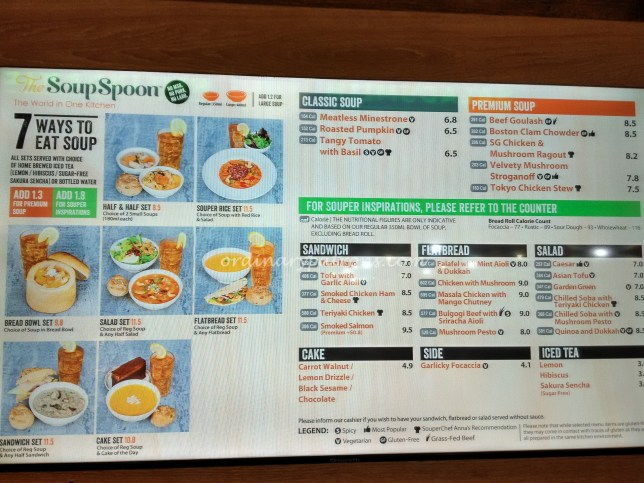 The Soup Spoon Paya Lebar