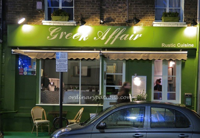 Greek Affair Nottinghill London1