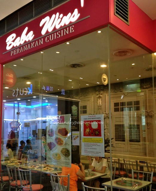 Baba Wins Peranakan at Star Vista4
