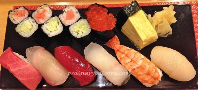 Shiraishi bento lunch Ritz Carlton Singapore1
