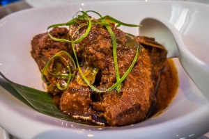 Beef Rendang - authentic Malay cuisine