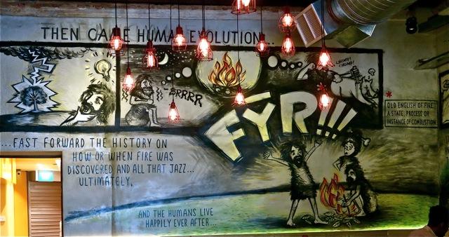 FYR Cycene ond Drinc Restaurant Singapore08