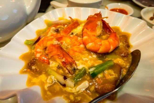 Yummy Recipes Prawns with beancurd