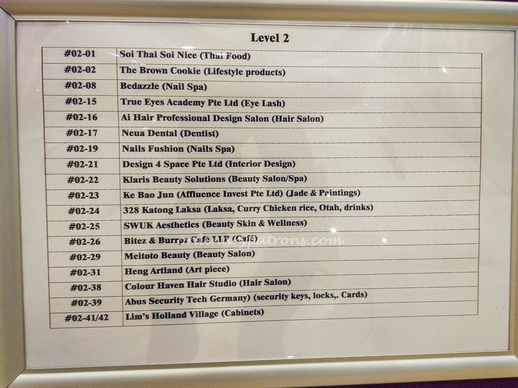 Alexandra Central Tenants Directory