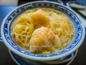 Wonton Mee - Soup Version