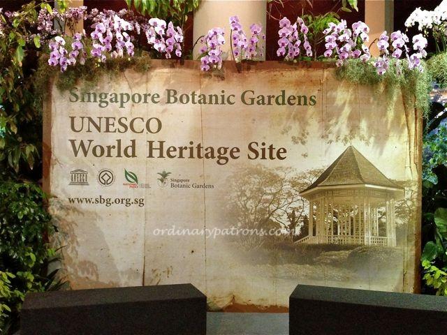 Singapore Botanic Gardens UNESCO2