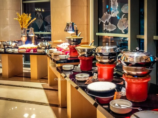 Buffet at Cafe Brio's Grand Copthorne Waterfront