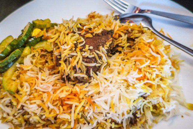 Singapore Islamic Restaurant mutton briyani