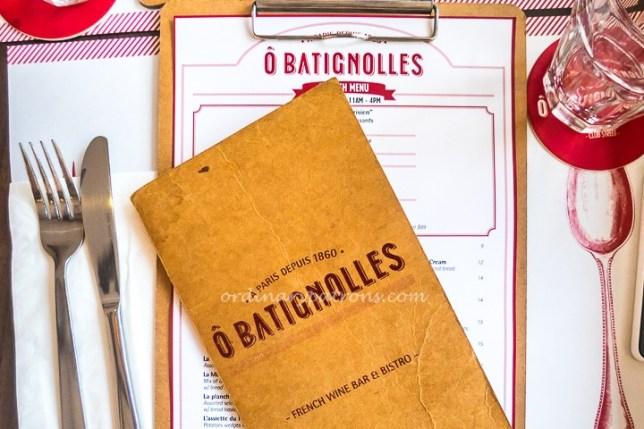 O'Batignolles French Bistro