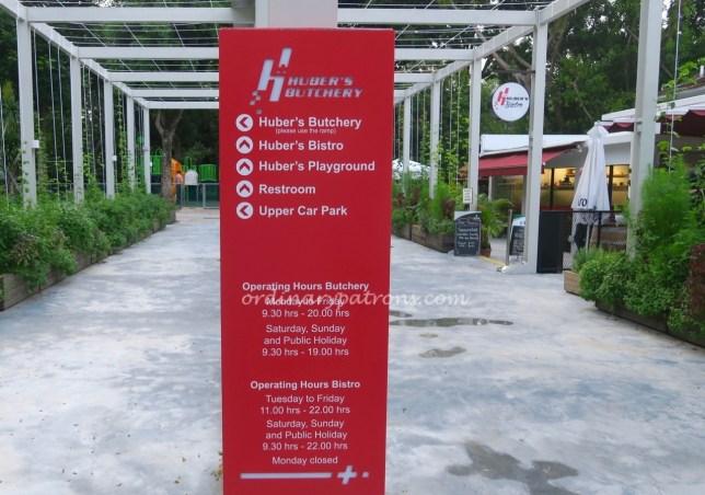 Huber Bistro Singapore - 2