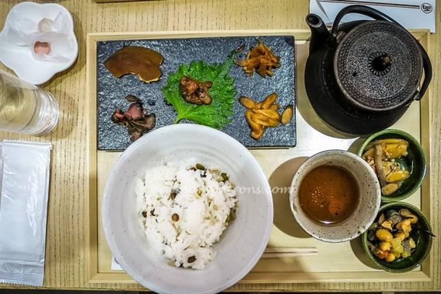 Eating in Nagoya Japan