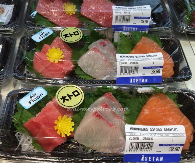Isetan Westgate Supermarket food and sake - 3