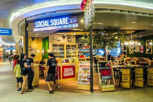 Social Square at Waterway Point Punggol