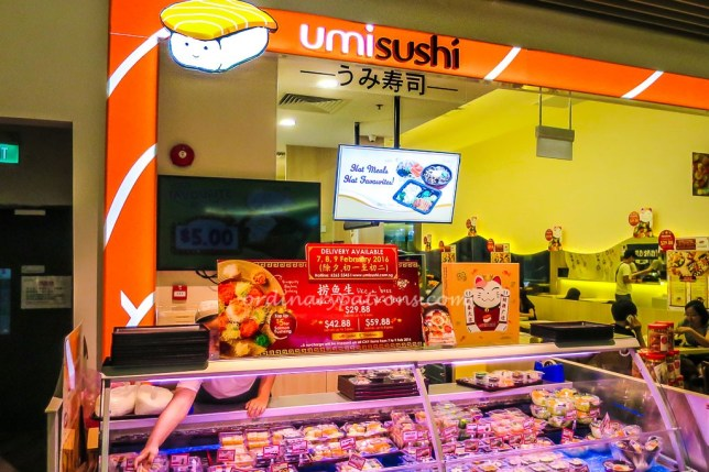 Umi Sushi in Waterway Point