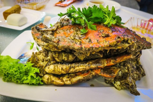 Jumbo Black Pepper Crabs