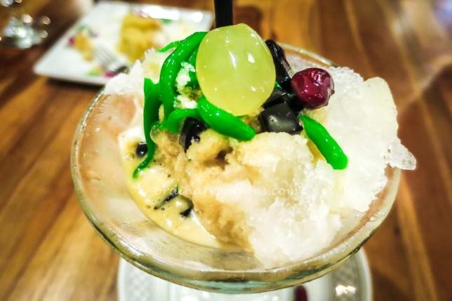 Quentin's Eurasian Restaurant Singapore Iced Chendol