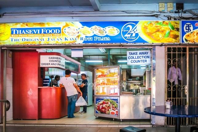 Thasevi Food Jalan Kayu Roti Prata